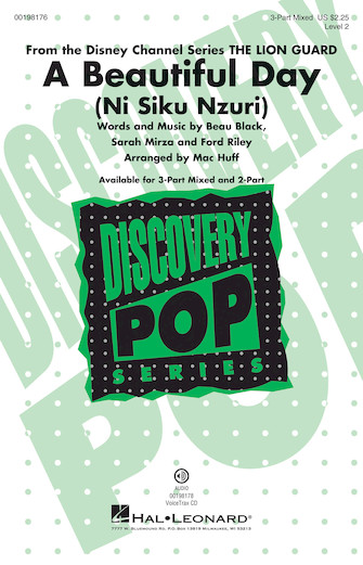 A Beautiful Day (Ni Siku Nzuri) : 3-Part : Mac Huff : Sheet Music : 00198176 : 888680647445