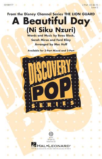 A Beautiful Day (Ni Siku Nzuri) : 2-Part : Mac Huff : Sheet Music : 00198177 : 888680647452