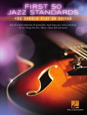 Product Cover for First 50 Jazz Standards You Should Play on Guitar