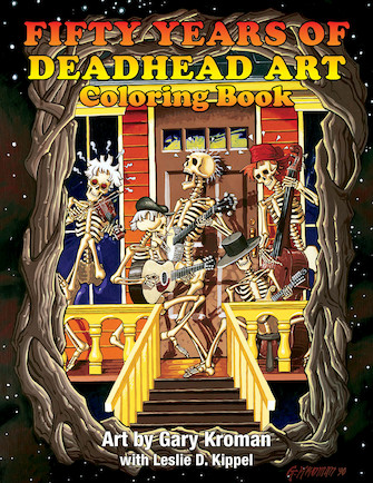 Product Cover for Fifty Years of Deadhead Art: Coloring Book