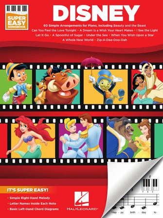 Product Cover for Disney – Super Easy Songbook