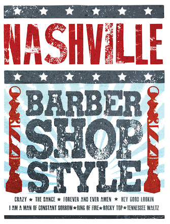 Product Cover for Nashville: Barbershop Style