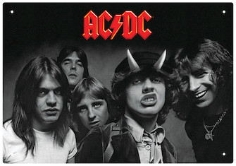 Product Cover for AC/DC – Highway to Hell – Tin Sign