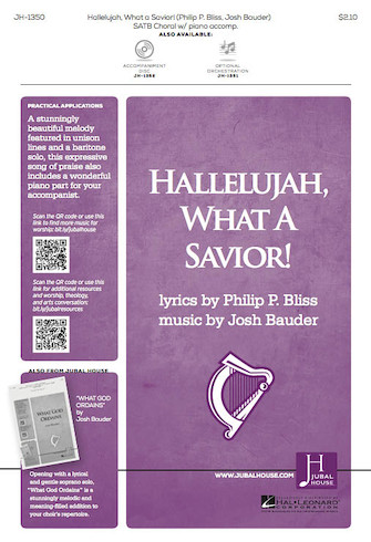 Product Cover for Hallelujah, What a Savior!