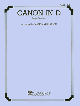 Product Cover for Canon in D – Piano or Organ Solo