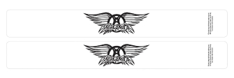 Product Cover for Aerosmith – Walk This Way 2-Pack Black Slap Band
