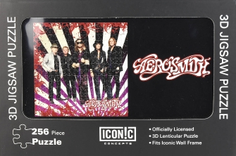 Product Cover for Aerosmith – 3D Lenticular Jigsaw Puzzle