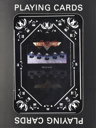 Product Cover for Aerosmith Rocks Playing Cards