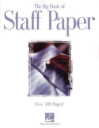 Product Cover for The Big Book of Staff Paper