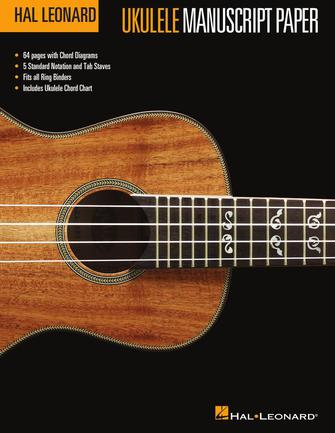Product Cover for Hal Leonard Ukulele Manuscript Paper