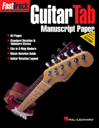 Product Cover for FastTrack Guitar Tab Manuscript Paper