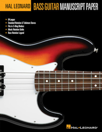 Product Cover for Hal Leonard Bass Guitar Manuscript Paper