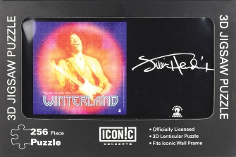 Product Cover for Jimi Hendrix – Winterland 3D Lenticular Jigsaw Puzzle