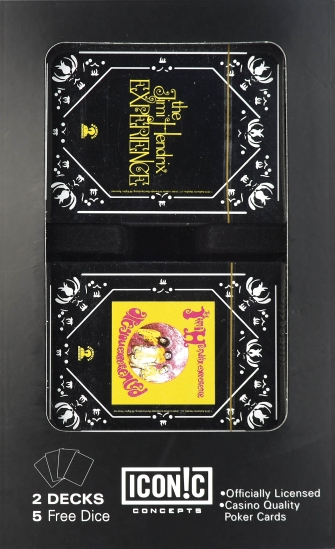 Product Cover for Jimi Hendrix Double Deck Playing Card Set with Dice