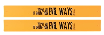 Product Cover for Santana – Evil Ways 2-Pack Slap Bands