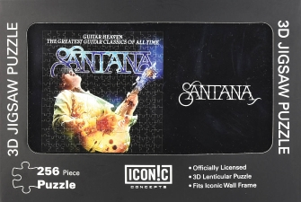 Product Cover for Santana – Guitar Heaven 3D Lenticular Jigsaw Puzzle