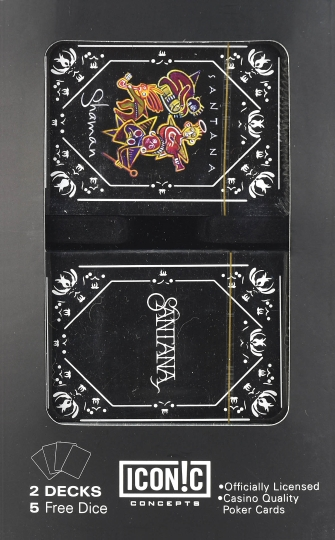Product Cover for Santana Double Deck Playing Card Set with Dice