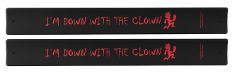 "Product Cover for Insane Clown Posse ""Down with the Clown"" 2-Pack Slap Bands"