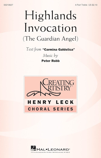 Highlands Invocation : SSAA : Peter Robb : Peter Robb : Sheet Music : 00210627 : 888680659943