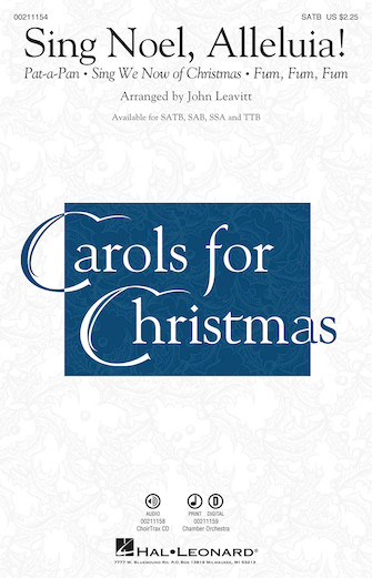 Product Cover for Sing Noel, Alleluia!