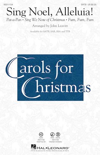 Sing Noel, Alleluia! : TTB : John Leavitt : Sheet Music : 00211157 : 888680660437