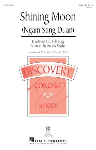 Shining Moon (Ngam Sang Duan) : SSA : Audrey Snyder : Sheet Music : 00211890 : 888680662066