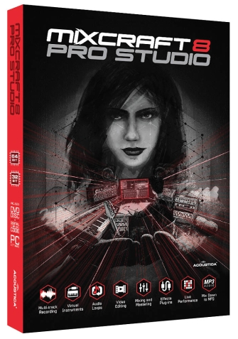 Product Cover for Mixcraft® Pro Studio 8