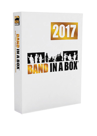 Product Cover for Band-in-a-Box 2017