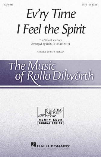 Ev'ry Time I Feel the Spirit : SATB : Rollo Dilworth : Sheet Music : 00215489 : 888680664695