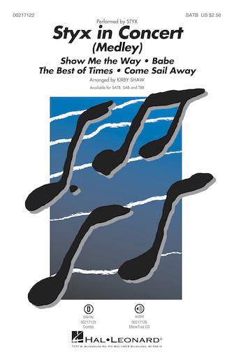 Styx in Concert : TBB : Kirby Shaw : Styx : Sheet Music : 00217124 : 888680666217