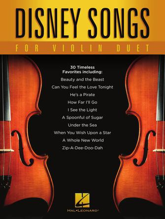 Product Cover for Disney Songs for Violin Duet