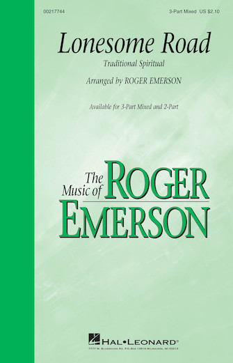 Lonesome Road : 2-Part : Roger Emerson : Sheet Music : 00217745 : 888680667184