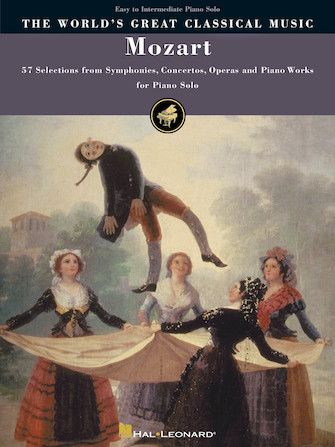 Mozart – Simplified Piano Solos