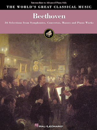 Product Cover for Beethoven – Intermediate to Advanced Piano Solo