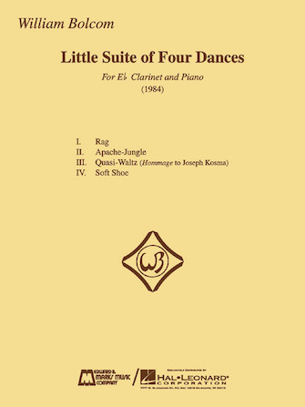 Product Cover for William Bolcom – Little Suite of Four Dances