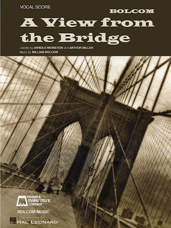 Product Cover for William Bolcom – A View from the Bridge