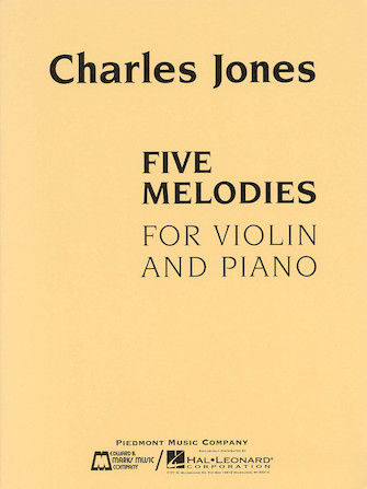 Product Cover for Five Melodies for Violin and Piano