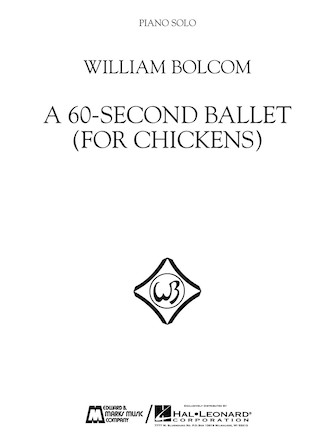 Product Cover for A 60-Second Ballet (For Chickens)