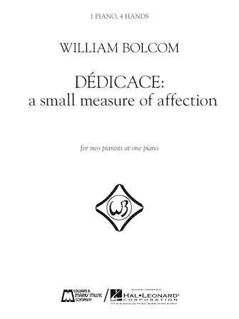 Product Cover for Dédicace – A Small Measure of Affection