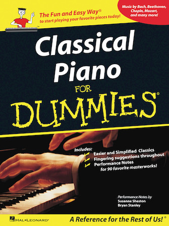 Product Cover for Classical Piano Music for Dummies