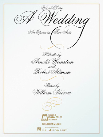 Product Cover for A Wedding