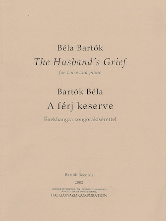 Product Cover for The Husband's Grief (A férj keserve)