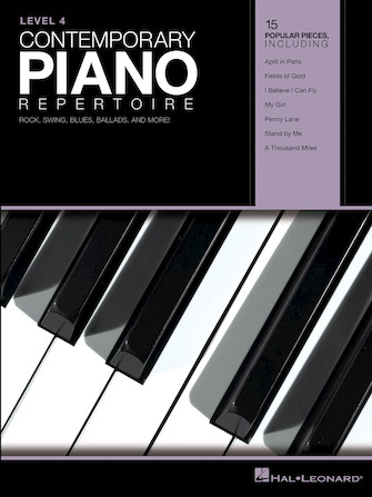 Product Cover for Contemporary Piano Repertoire – Level 4