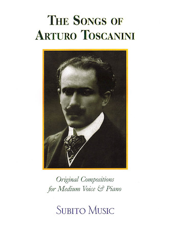 Product Cover for The Songs of Arturo Toscanini