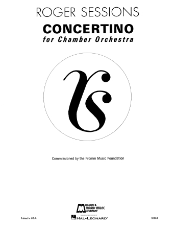 Product Cover for Concertino for Chamber Orchestra