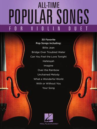 Product Cover for All-Time Popular Songs for Violin Duet