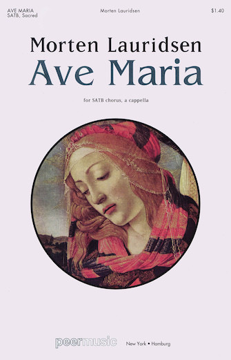 Ave Maria : SATB : Morten Lauridsen : Sheet Music : 00228870 : 680160431168