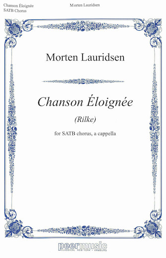 Product Cover for Chanson Éloignee
