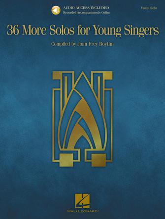 Product Cover for 36 More Solos for Young Singers