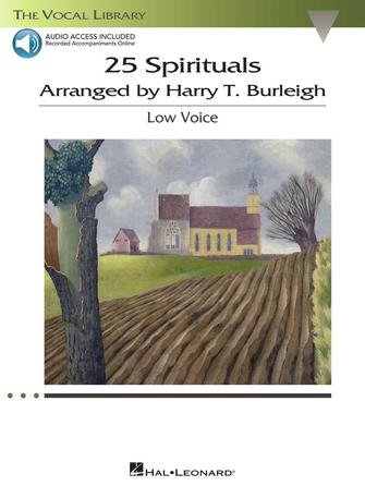 Product Cover for 25 Spirituals Arranged by Harry T. Burleigh